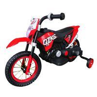 Mini Moto Cross Elétrica Infantil, Suporta até 25Kg, Vermelha - BW083VM