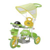 Triciclo Infantil 2 em 1 com Capota Importway• Um triciclo completo que acompanha as fases de crescimento da criança com conforto e segurança• Tricicl
