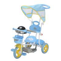 Triciclo Infantil 2 em 1 com Capota Importway