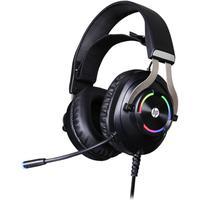 Desfrute de um som de alta qualidade com o headset gamer HP H360.   O driver confortável, de 50mm, preza pela qualidade na reprodução do som, com niti