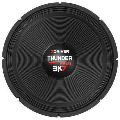 Alto Falante 18 Polegadas Thunder 3k7 Bass Seven Driver By Taramps, 4 Ohms, 1200W Rms
