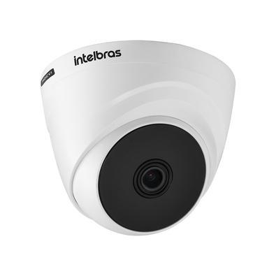 Alta definição de imagens A câmera possui resolução HD 720p, que proporciona imagens mais nítidas graças à tecnologia HDCVI