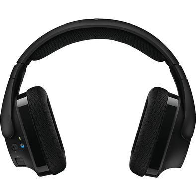 O G533 tem uma transmissão avançada de áudio digital sem perda com 2,4 GHz, oferecendo a conveniência do sem fio e um som incrível de alta fidelidade,