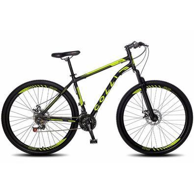 Bicicleta Aro 29 Colli Athena com Câmbio Traseiro Shimano 21m, Freio a Disco Dianteiro e Traseiro
