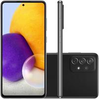 "Smartphone Samsung Galaxy A72, Câmera Quádrupla Traseira de 64MP OIS + 12MP + 8MP +5MP, Selfie de 32MP, Zoom Hibrido 30x, Tela Infinita de 6.7"", 128GB"