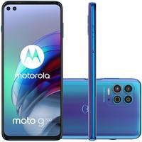 Smartphone Motorola Moto G100, 256GB, 12GB RAM, Tela 6.7, Azul + Capa + Película Protetora