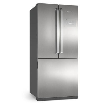 Refrigerador Brastemp Side Inverse 3 Portas 540L Frost Free Inox 220V BRO80AK. Conheça agora a nova geração de refrigeradores da Brastemp! A nova Side