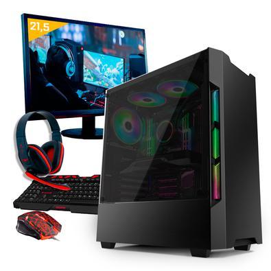 Computador Gamer Neologic, Ryzen 5 2400G, 8GB, GTX 1050 Ti, 1TB - Nli80941