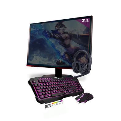 O PC Gamer Neologic Start foi feito para quem quer entrar de cabeça no mundo dos games mas não quer abrir mão do melhor desempenho! Trazendo um incrív