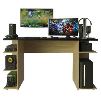 Para elevar a sua experiência de jogo, nada melhor do que investir em uma mesa gamer que proporcione muito conforto, espaço de sobra e um visual moder