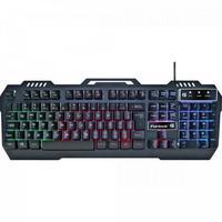 O teclado gamer Crusader da Fortrek une qualidade e beleza em um mesmo produto. O teclado é retroiluminado rainbow e possui 3 modos de iluminação, que