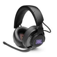 Projetado para imersão e desempenho, o fone de ouvido JBL Quantum 600 2.4 GHz sem fio para jogos oferece a você uma vantagem clara sobre a concorrênci