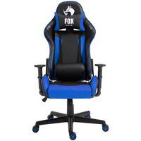Cadeira Gamer Fox Racer Marble - Azul - O jogo começou. Prepare-se para o desempenho máximo com a sua FOX RACER, uma cadeira para jogos que oferece en