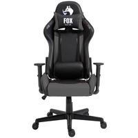 Cadeira Gamer Fox Racer Marble - Cinza - O jogo começou. Prepare-se para o desempenho máximo com a sua FOX RACER, uma cadeira para jogos que oferece e