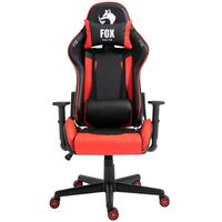 Cadeira Gamer Fox Racer Marble - Vermelho - O jogo começou. Prepare-se para o desempenho máximo com a sua FOX RACER, uma cadeira para jogos que oferec