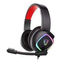 Headset Gamer Motospeed G750 7.1 RGB Preto Fone e Microfone