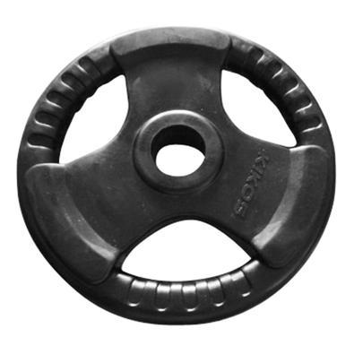 Anilha Olímpica indicada para treinamentos funcionais e de levantamento de pesos.  Serve apenas em Barras Olimpicas pois possui furação de 50-51mm.  C