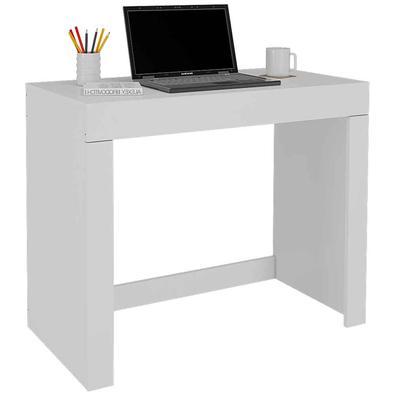 Que tal a Mesa para Notebook Cléo? Móveis simples também podem ter grandes utilidades em seu dia a dia e um belo exemplo disso é a Escrivaninha com 1