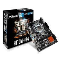 Placa Mãe Asrock H110M-HG4 Socket Intel LGA1151, DDR4, Uatx 6º e 7º Geração