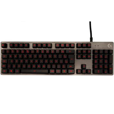 Teclado Mecânico Gamer Logitech G413 Carbon, Led Vermelho, Switch Romer-g Tactile, ABNT2 - 920-009162