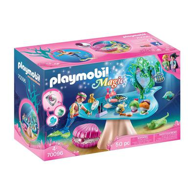 Diversão para meninas e meninos: salão de beleza PLAYMOBIL com porta-joias, pingente e pérolas para brincar e colecionar com os amigos Penteados inter