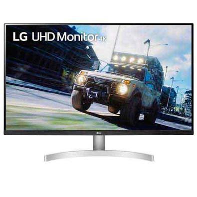 Eleve sua tela com o monitor UHD 4K LG, com proporção de tela de 31,5 ´´e 16: 9, o monitor da LG com tela UHD 4K com HDR10 oferece ótimas cores, contr