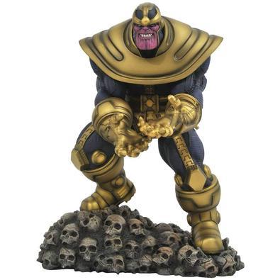 Thanos vem do planeta Titã, e é um dos principais vilões pertencentes a Marvel Comics. Inicialmente apresentado como um vilão do Homem de Ferro, logo