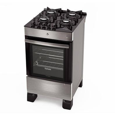 Com design moderno de Cooktop, o Fogão Vitrum da Itatiaia chegou para revolucionar a cozinha da sua casa! A mesa é de vidro temperado, que garante mai