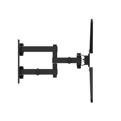 O suporte triarticulado com inclinação é super reforçado, de fácil instalação e ideal para todos os ambientes, aproveitando melhor os espaços e deixan
