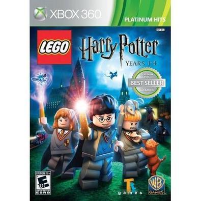 JOGO MÍDIA FÍSICA, NOVO E LACRADO, ORIGINAL -  Lego Harry Potter: Years 1-4 é um jogo de aventura que faz parte da famosa série dos jogos baseados no