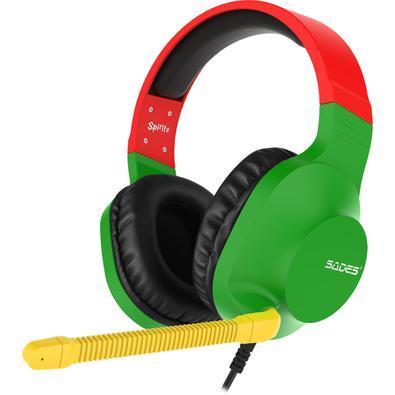 Spirits é equipado com alto-falantes de 50mm e fornece um excelente som stereo. O controle prático localizado no fone esquerdo torna fácil e super prá