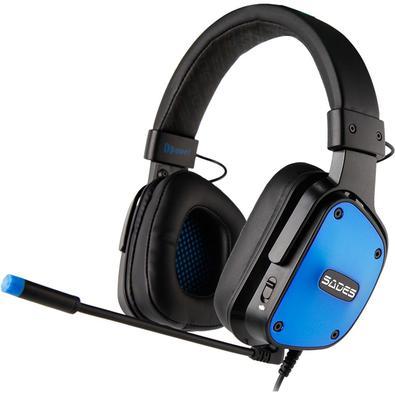 A marca Sades é sinônimo de performance e qualidade em todo o mundo. Dpower é um headset portátil super leve com som stereo. e serve para PC / PS4 / X
