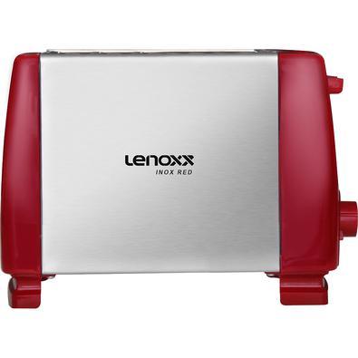 A Torradeira Inox Red da Lenoxx é compacta, possui 6 níveis de tostagens, botão cancela e alavanca de acionamento. Tem a função de tostar, aquecer até