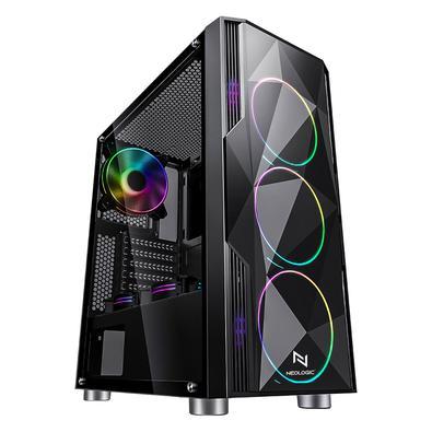 Desempenho e estilo andam juntos no novo PC Neologic Phantom, tornando o seu gameplay incrível em todos os sentidos. Trazendo a potência e a inovação