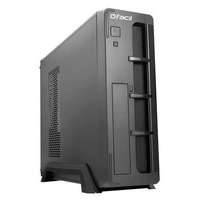 O computador Fácil Slim Premium é elaborado para maior conforto e desempenho para o usuário. Com seu gabinete compacto, estes desktops ocupam menos lu