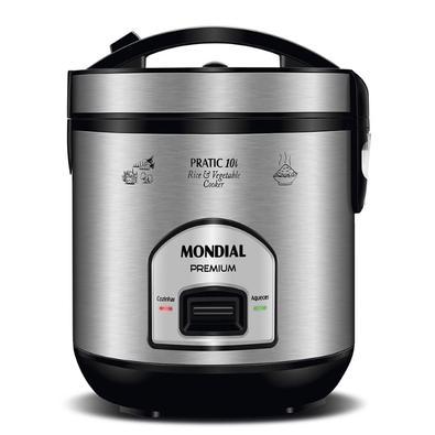 A panela elétrica da Mondial além de ser prática, possui maior profundidade para preparar alimentos em grande quantidade e servir toda a família. Com