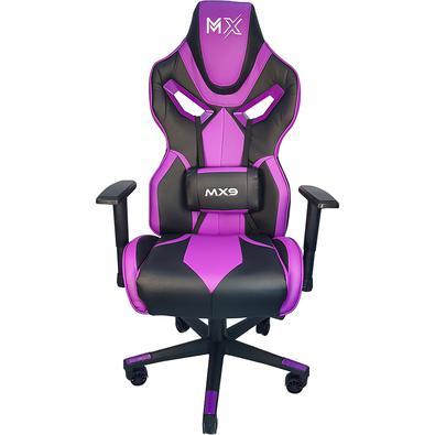 A nova linha de Cadeira Gamer MX9 é resultado de pesquisas entre os principais gamers do país e teve seu design inspirado nos assentos automotivos Rac
