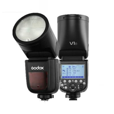 Oferecendo uma Potente Saída de 76Ws, juntamente com um design distinto, o Flash Godox V1-FCabeça Redonda TTL Master SpeedLight para Câmeras FujiFilm