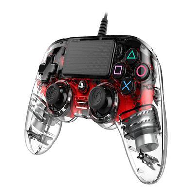 Controle com fio e iluminado (wired, illuminated) para PS4 E PCUM ACESSÓRIO ESSENCIAL PARA JOGOS PS4Compacto, mas poderoso, este controlador com fio P