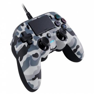 Controle com fio (wired) para PS4 E PCUM ACESSÓ,RIO ESSENCIAL PARA JOGOS PS4Compacto, mas poderoso, este controlador com fio PS4 oficialmente licencia
