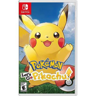 JOGO MÍDIA FÍSICA, NOVO E LACRADO, ORIGINAL -Pokemon: Vamos lá, Pikachu! traga a experiência de um RPG clássico do Pokemon para o Nintendo Switch com