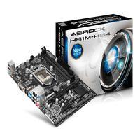 Placa Mãe H81M-HG4 Micro-ATX, para Intel Asrock, DDR3, LGA 1150.