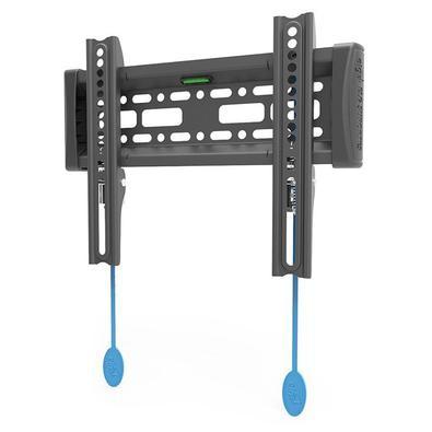 Indicado para TVs / Monitores LCD / LED / PLASMA / 3D / OLED / QLED até 43 polegadas com até 30 kg e compatíveis com padrão de fixação VESA 75x75, 100