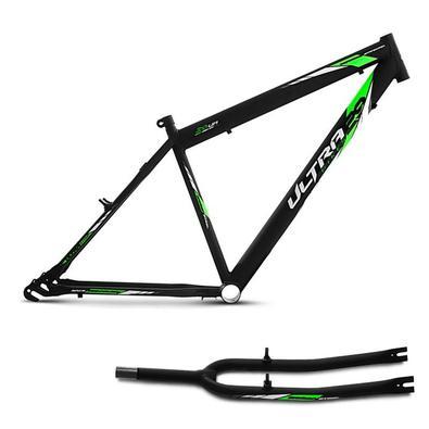 O Quadro Ultra Bikes Masculino Aro 29 é fabricado em material leve de alta qualidade, garantindo mais resistência e segurança. Possui adesivos de alto