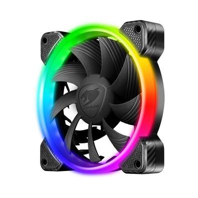 Pronto para a ação? Com o kit de resfriamento Vortex RGB FCB 120, você tem tudo o que precisa para transformar seu PC em uma obra de arte viva. Três v