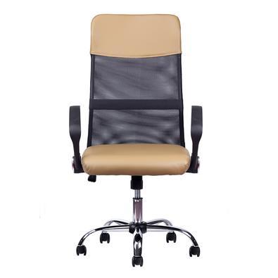 A Cadeira Presidente Detroit Giratória foi projetada para fornecer conforto e segurança. Ela é giratória, reclinável, possui regulagem de altura e rod
