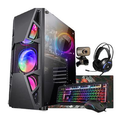 Computador gamer com processador Intel Core i5, SSD 240Gb,HD de 1Tb, Fonte Real 750w, 8Gb de memória, Placa de vídeoGTX 1050 de 4Gb e monitor de 19