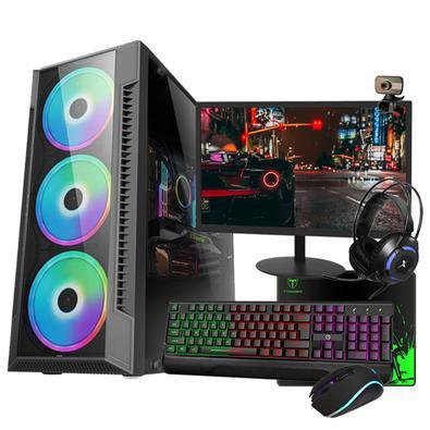 PC gamer completo e barato, com processador i3, 8Gb de memória, Placa de vídeo GT730 de 4Gb, HD de 500Gb e Monitor de 19 Polegadas – Modelo Hércules.