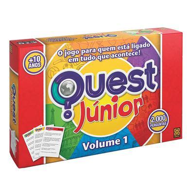 Nosso novo jogo de perguntas e respostas elaborado especialmente para a criançada! Quest Júnior traz 2.000 perguntas que desafiam o seu conhecimento s