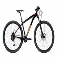 """A Moab 2021 é a mountain bike aro 29"""" que entrega uma performance superior nos treinos em trilhas. Equipada com suspensão dianteira Rock Shox e compon"""